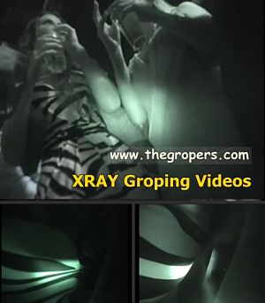 X RAY Groped videos