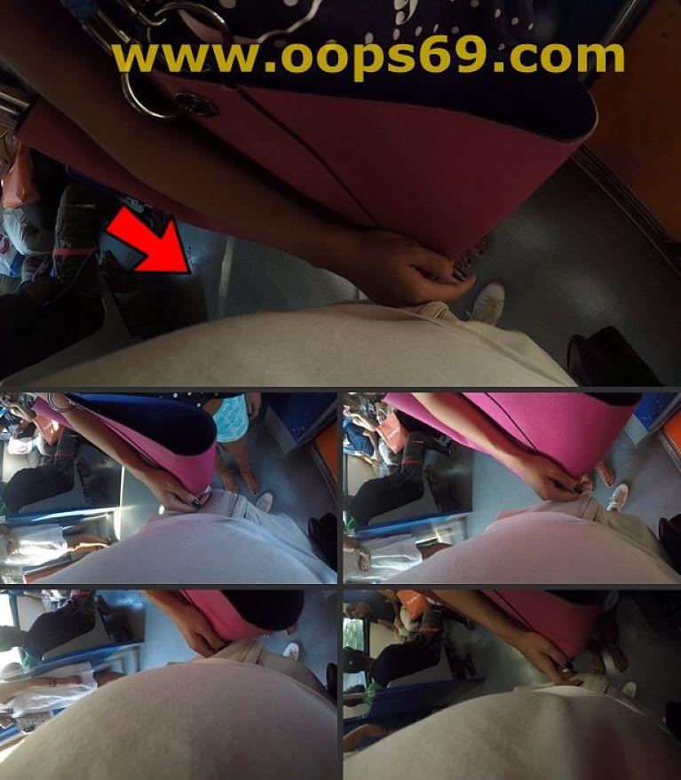 Woman Grope my dick in train