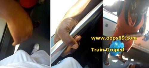 groped dick train
