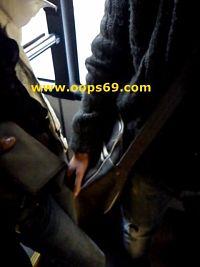 groping pussy in train
